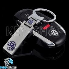 Металлический брелок для авто ключей Volkswagen (Фольксваген)