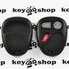 Корпус пульта для Buick (Бьюик), 2 + 1 (panica) кнопки