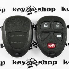 Корпус пульта для Buick (Бьюик), 3 + 1 (panica) кнопки