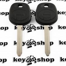 Корпус ключа под чип для BYD (БИД), левый пропил лезвия