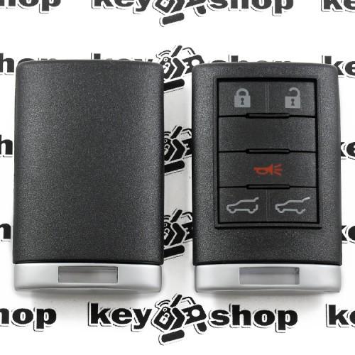 Корпус смарт ключа Cadillac (Кадиллак) 4 кнопки + 1