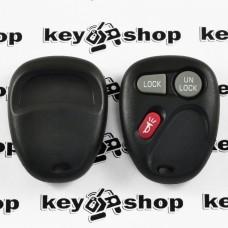 Оригинальный пульт Кадиллак (Cadillac), 2 + 1 (panica) кнопки, 315MHz, FCCID: KOBLEAR1XT
