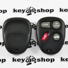 Оригинальный пульт Кадиллак Ескалейд (Cadillac Escalade), 3 + 1 (panica) кнопки, 315MHz, FCCID: KOBLEAR1XT