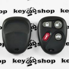 Оригинальный пульт Кадиллак (Cadillac), 3 + 1 (panica) кнопки, 315MHz, FCCID: KOBLEAR1XT