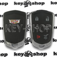 Корпус смарт ключа Cadillac (Кадиллак) 5 кнопок + 1 (с логотипом)