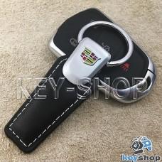 Кожаный брелок для авто ключей CADILLAC (Кадиллак)