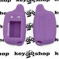 Чехол (фиолетовый) для брелка сигнализации Tomahawk TW -9010 ,9020, 9030