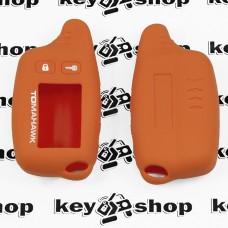 Чехол (оранжевый) для брелка сигнализации Tomahawk TW -9010 ,9020, 9030