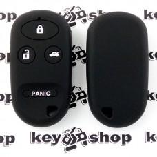 Чехол (силиконовый) для пульта Honda (Хонда) 3 кнопки + 1