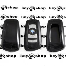 Чехол (черный, пластиковый) для смарт ключа BMW (БМВ)
