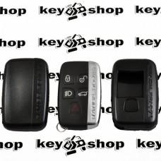 Чехол (черный, пластиковый) для смарт ключа LAND ROVER (Ленд Ровер)