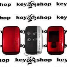 Чехол (красный, пластиковый) для смарт ключа LAND ROVER (Ленд Ровер)