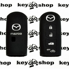 Чехол для авто ключей Mazda (Мазда) 4 кнопки