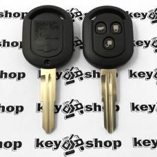 Оригинальный корпус авто ключа для Chevrolet Lacetti (Шевролет лачети) 3-кнопки