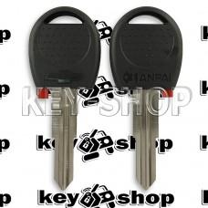 Корпус авто ключа под чип для Chevrolet AVEO (Шевролет Авео) без логотипа