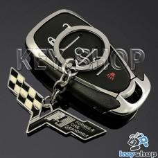 Металлический брелок для авто ключей Chevrolet Corvette (Шевролет Корвет)