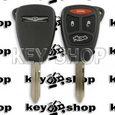 Корпус для автоключа Сhrysler (Крайслер) 3 + 1 кнопки (тип 2)