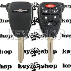 Корпус автоключа для Chrysler ( Крайслер) 5 + 1 кнопки