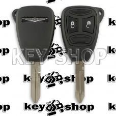 Корпус автоключа для Chrysler ( Крайслер) 2 кнопки (тип 2)