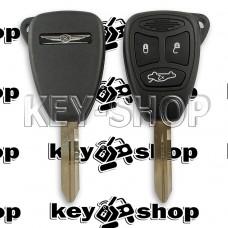 Корпус автоключа для Chrysler (Крайслер) 3 кнопки (тип 2)