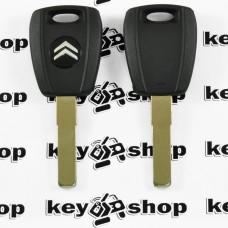 Корпус авто ключа под чип для Citroen (Ситроен) лезвие SIP22