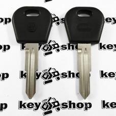 Корпус авто ключа для Daewoo (Дэу), без места под чип, правый пропил