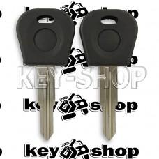 Корпус авто ключа Daewoo (Дэу), с местом под чип, лезвие DWO4R