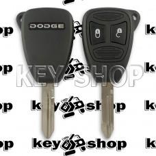 Корпус автоключа Dodge (Додж) 2 кнопки