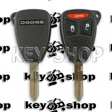 Корпус автоключа Dodge (Додж) 2+1 кнопки (тип 2)