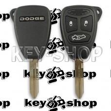 Корпус автоключа для Додже (Dodge) 3 кнопки (тип 2)