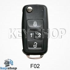 Ключ заготовка (F02_w) для программатора KD900, KD900+, KD mini