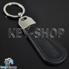 Кожаный брелок для авто ключей Ferrari (Ферари)