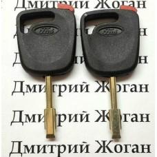 Корпус авто ключа под чип для FORD (Форд), лезвие FO21 (с красной заглушкой)