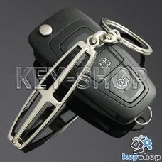 Металлический брелок для авто ключей Lincoln (Линкольн)