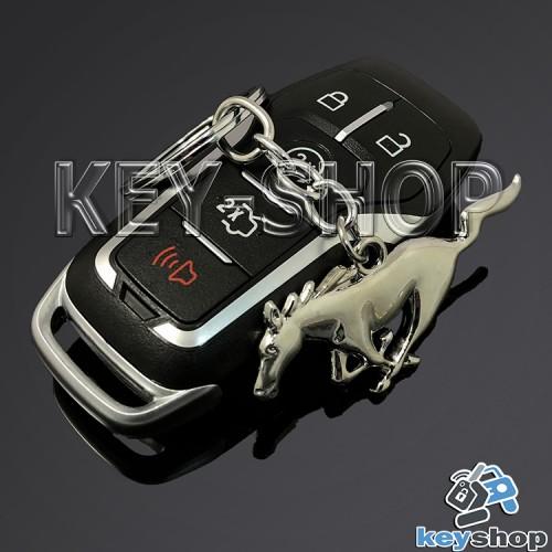 Металлический брелок для авто ключей Ford Mustang (Форд Мустанг)