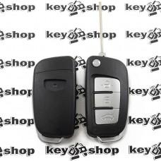 Корпус выкидного ключа для Джили (Geely) под переделку, 3 кнопки, с лезвием