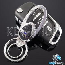 Металлический брелок для авто ключей Geely (Джили)