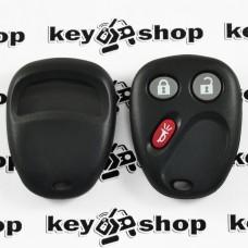 Оригинальный пульт для ДжиЭмСи (GMC), 2 + 1 (panica) кнопки, 315MHz, FCCID: MYT3X6898B