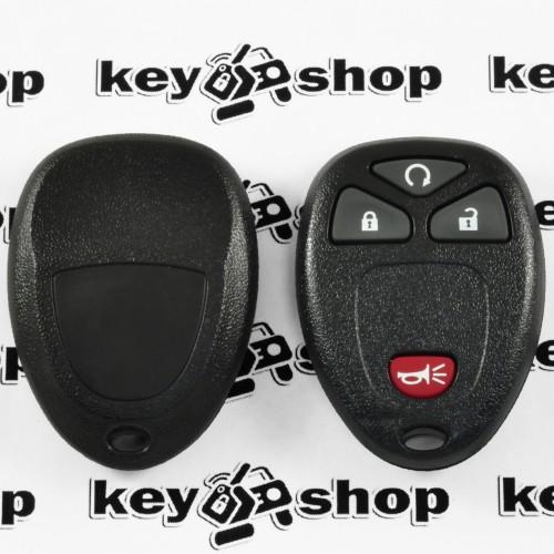 Оригинальный пульт для ДжиЭмСи (GMC), 3 + 1 (panica) кнопки, 315MHz, FCCID: KOBGT04A