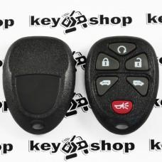 Оригинальный пульт для ДжиЭмСи (GMC), 5 + 1 (panica) кнопки, 315MHz, FCCID: KOBGT04A