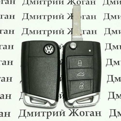 лезвие для выкидного ключа vw/audi/skoda/seat hu-66.