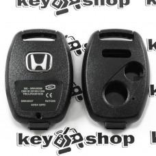 Корпус автоключа для Honda (Хонда) 2 + 1 кнопки , без лезвия (под установку родного)