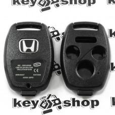 Корпус автоключа для Honda (Хонда) 3 + 1 кнопки , без лезвия (под установку родного)