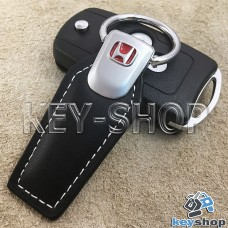 Кожаный брелок для авто ключей Хонда (Honda)