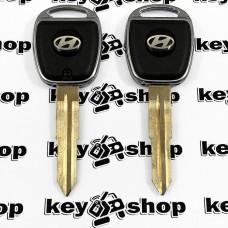 Корпус ключа Hyundai (Хундай), лезвие HYN 10, с подсветкой