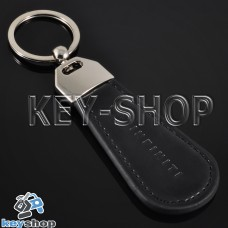 Кожаный брелок для авто ключей Infiniti (Инфинити)