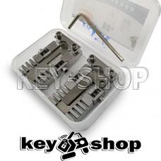 Комплект (GOSO) зажимов автомобильных и квартирных ключей для копировально-фрезерного станка.