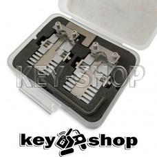 Комплект (HUK) зажимов автомобильных и квартирных ключей для копировально-фрезерного станка.