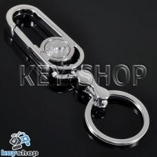 Металлический брелок для авто ключей Jaguar (Ягуар)