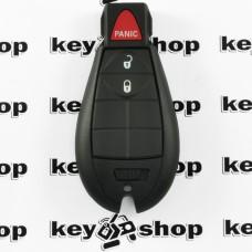 Оригинальный смарт ключ для Jeep (Джип) 2 + 1 кнопки, чип 4A (PCF7953), 433 MHz